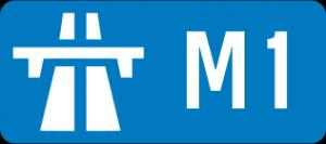 Runaway car almost causes fatal accident on M1