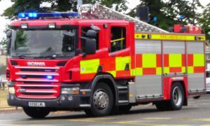 Car garages damaged in blaze on Middlesbrough industrial estate