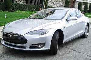 Luxury electric car 'least likely to lose value'