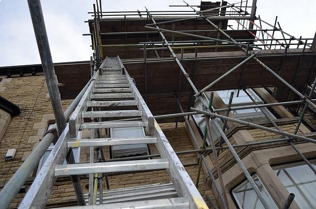 Roofing company fined after employee ladder fall