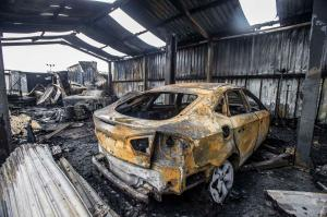 Liverpool car dealership decimated by fire