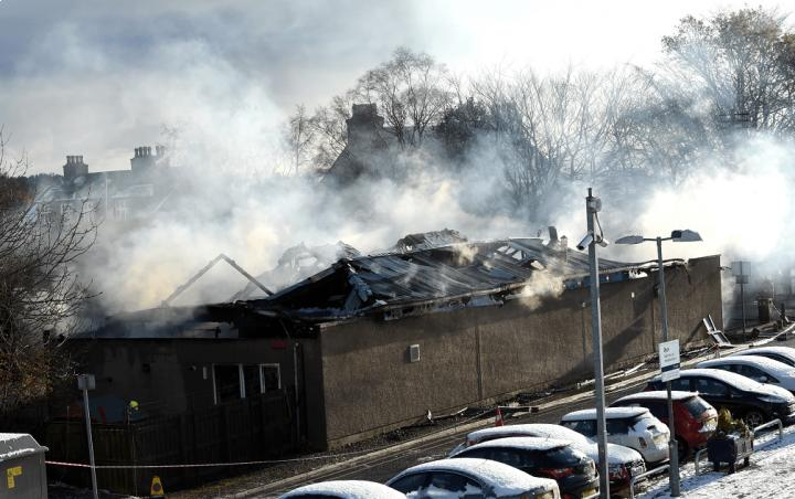 Two family businesses in Aberdeen 'completely destroyed' in fire