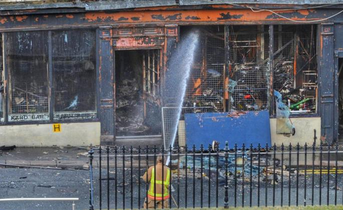 Person missing after fire at Newcastle city centre shop