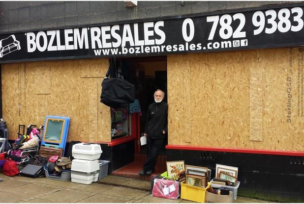 Vandals damage shop twice in three days