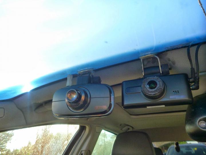 Garage staff caught speeding by customer's dashcam