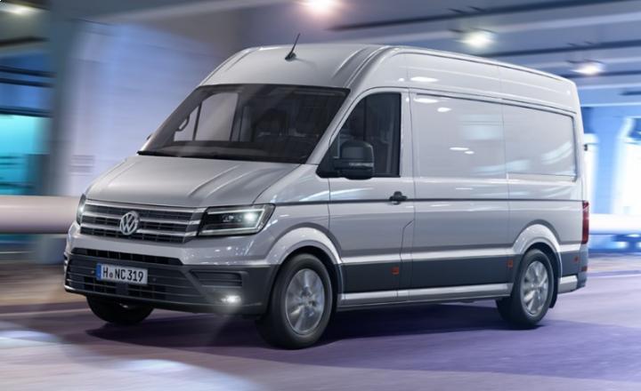 Volkswagen gives sneak peek at 2017 Crafter van